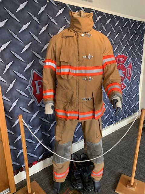 Uniform of Sparks Fire Department